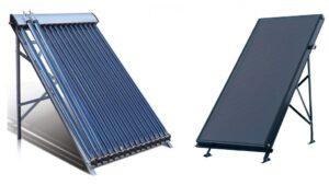 Tipos de Coletores para aquecimento solar