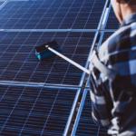 Manutenção do sistema de energia solar